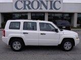 2007 Stone White Jeep Patriot Sport #24588747