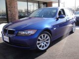 2007 Montego Blue Metallic BMW 3 Series 328xi Sedan #24588428