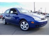2005 Sonic Blue Metallic Ford Focus ZX3 SE Coupe #24588288