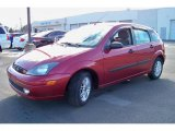 2003 Sangria Red Metallic Ford Focus ZX5 Hatchback #24588289