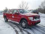 2010 Vermillion Red Ford F150 FX4 SuperCrew 4x4 #24588557