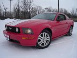 2005 Torch Red Ford Mustang GT Premium Coupe #24588413