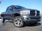 2007 Mineral Gray Metallic Dodge Ram 1500 SLT Quad Cab 4x4 #24588039