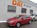 2010 Sangria Red Metallic Ford Fusion SEL V6 #24588311