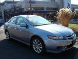 2008 Glacier Blue Metallic Acura TSX Sedan #24588544