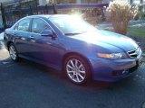 2008 Arctic Blue Pearl Acura TSX Sedan #24588545