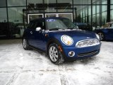 2007 Lightning Blue Metallic Mini Cooper Hardtop #24588686