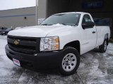 2009 Summit White Chevrolet Silverado 1500 Regular Cab #24588416