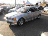 2000 Titanium Silver Metallic BMW 3 Series 328i Coupe #24587996