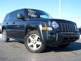 2007 Steel Blue Metallic Jeep Patriot Sport 4x4 #24588058