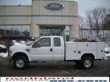 2010 Oxford White Ford F350 Super Duty XL Regular Cab 4x4 Chassis Utility #24588134