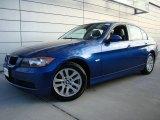 2007 Montego Blue Metallic BMW 3 Series 328xi Sedan #24588153