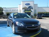 2008 Imperial Blue Metallic Chevrolet Malibu LT Sedan #24588407