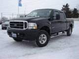 2003 Black Ford F250 Super Duty Lariat Crew Cab 4x4 #24588508