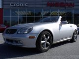 2001 Brilliant Silver Metallic Mercedes-Benz SLK 320 Roadster #24588908