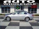 2008 Alabaster Silver Metallic Acura TSX Sedan #24589062