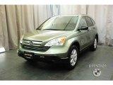 2008 Green Tea Metallic Honda CR-V EX 4WD #24693346