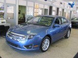 2010 Sport Blue Metallic Ford Fusion SEL V6 #24693455