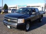 2009 Black Chevrolet Silverado 1500 LT Crew Cab 4x4 #24693294
