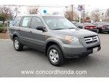 2007 Nimbus Gray Metallic Honda Pilot LX #24693309