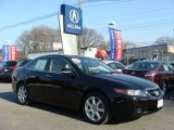 2005 Nighthawk Black Pearl Acura TSX Sedan #24693416