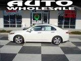 2009 Premium White Pearl Acura TSX Sedan #24589082