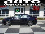 2009 Crystal Black Pearl Acura TSX Sedan #24589083