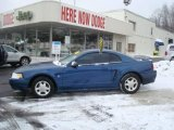 Atlantic Blue Metallic Ford Mustang in 2000