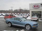 2007 Windveil Blue Metallic Ford Mustang V6 Premium Coupe #24589112