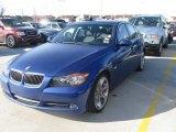 2007 Montego Blue Metallic BMW 3 Series 335i Sedan #24589146