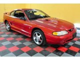 1996 Laser Red Metallic Ford Mustang SVT Cobra Coupe #24589164