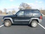 2002 Black Jeep Liberty Sport #24589254