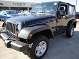 2010 Dark Charcoal Pearl Jeep Wrangler Sport 4x4 #24589267