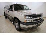 2004 Silver Birch Metallic Chevrolet Silverado 1500 LS Extended Cab 4x4 #24589432
