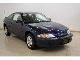 2002 Indigo Blue Metallic Chevrolet Cavalier Coupe #24589433