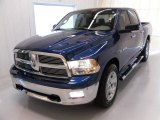 2009 Deep Water Blue Pearl Dodge Ram 1500 Big Horn Edition Crew Cab #24589472