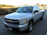 2010 Sheer Silver Metallic Chevrolet Silverado 1500 LT Extended Cab #24589483