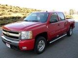 2010 Victory Red Chevrolet Silverado 1500 LT Crew Cab #24589486