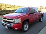 2010 Victory Red Chevrolet Silverado 1500 LT Crew Cab 4x4 #24589491