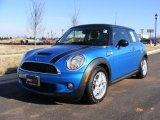 2007 Laser Blue Metallic Mini Cooper S Hardtop #24589511