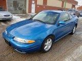 2000 Electric Blue Oldsmobile Alero GL Coupe #24589562