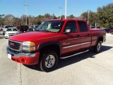 2006 Fire Red GMC Sierra 2500HD SL Crew Cab #24589568