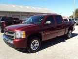 2009 Deep Ruby Red Metallic Chevrolet Silverado 1500 LT Crew Cab #24589575