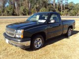 2004 Dark Green Metallic Chevrolet Silverado 1500 Regular Cab #24589578