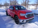 2008 Radiant Red Toyota Tundra Double Cab #24589584