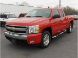 2007 Victory Red Chevrolet Silverado 1500 LT Extended Cab #24753151