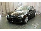 2009 Jet Black BMW 3 Series 328xi Coupe #24753040