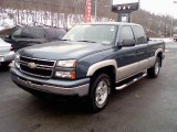 2006 Blue Granite Metallic Chevrolet Silverado 1500 LT Extended Cab 4x4 #24753029