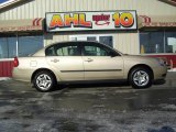 2005 Light Driftwood Metallic Chevrolet Malibu Sedan #24753059