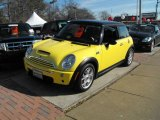 2005 Liquid Yellow Mini Cooper S Hardtop #24753048